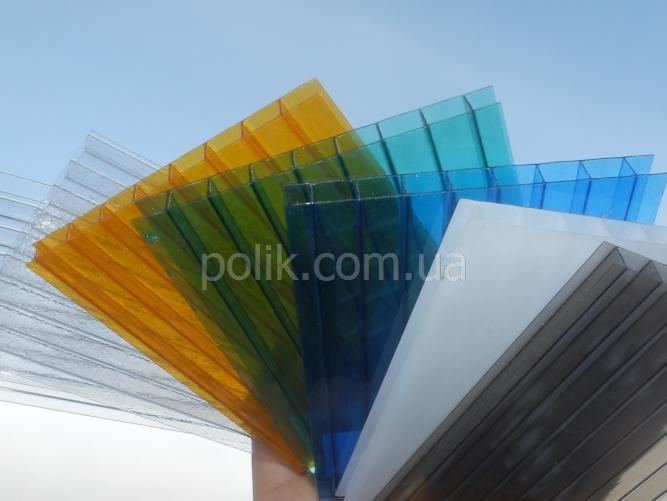 сотовый поликарбонат толщиной 8 мм